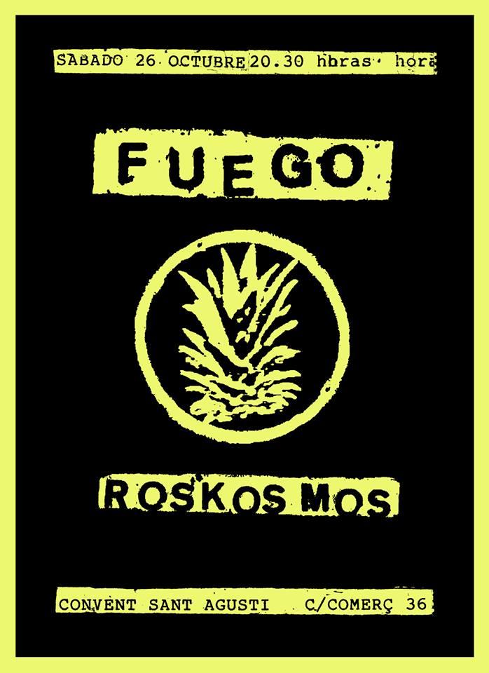 Fuego + Roskosmos 26 Octubre